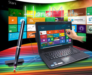 Turn the Laptop into a Touchscreen Device by portronics handmate windows 8