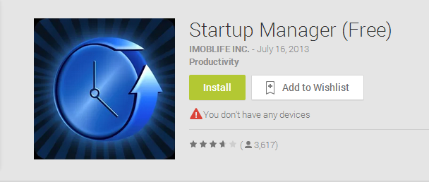 Startup Manager  Free    Android Apps on Google Play