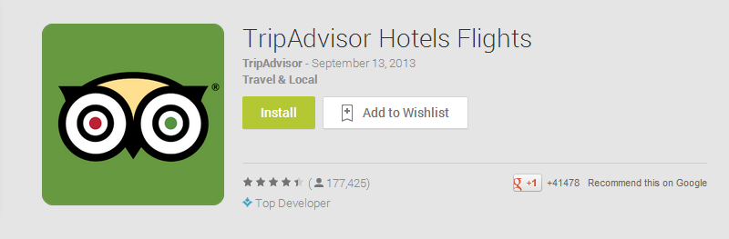 TripAdvisor Hotels Flights Android Apps on Google Play