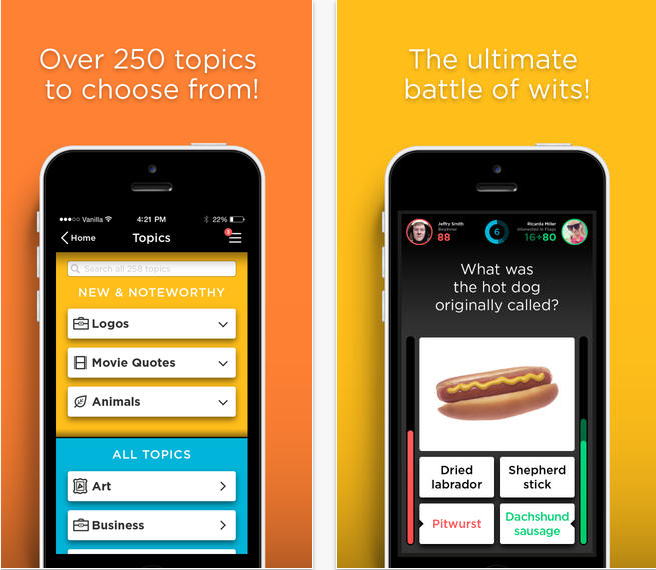QuizUp  The Biggest Trivia Game In The World  on the App Store on iTunes