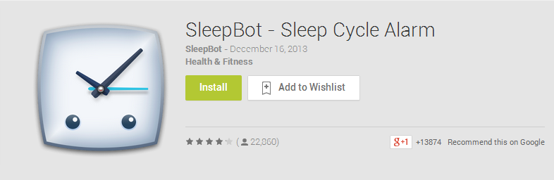 SleepBot   Sleep Cycle Alarm   Best Android Apps on Google Play