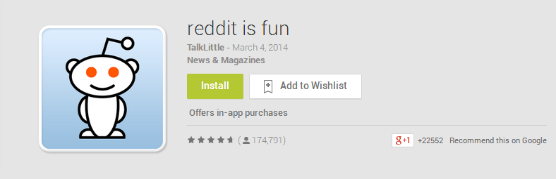 reddit is fun   Best Android Apps on Google Play