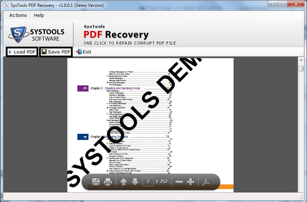 SysTools PDF Recovery