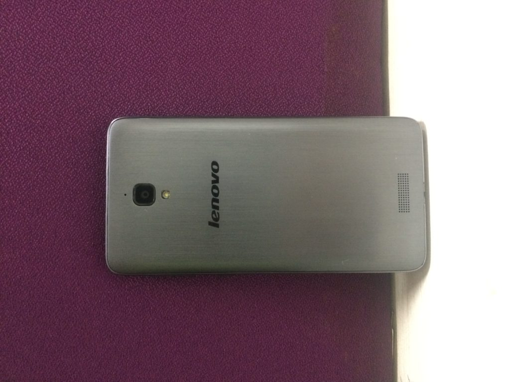 Lenovo S660 Back Design