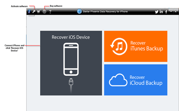 Recover iTunes Backup files