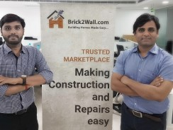 Construction Material Marketplace Brick2wall Raises Rs 1.3 Crore in Angel Round