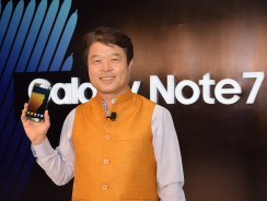 Samsung Galaxy Note7 Launched in India For INR 59,900