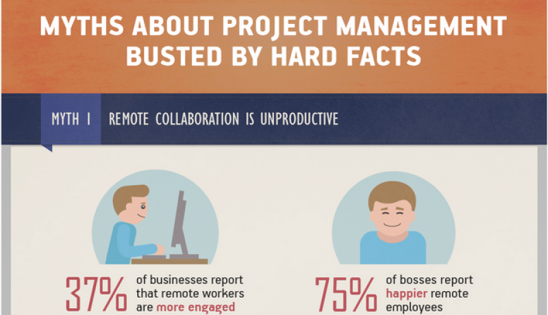 Top 5 Project Management Myths BUSTED [Infographic]