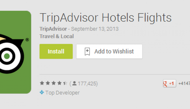 Three Great Android Apps For Hotel Reviews And Suggestions