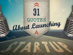 31 Quotes About Launching a Startup – By Wrike Project Management Software (Infographic)